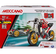 Meccano Meccano 5-in-1 Model Set - Street Fighter Bike