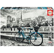 Educa Educa Bike Near Notre Dame Puzzle 500pcs