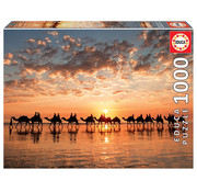 Educa Educa Golden Sunset on Cable Beach, Australia Puzzle 1000pcs