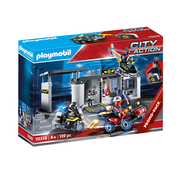 Playmobil Playmobil Take Along Tactical Unit Headquarters RETIRED