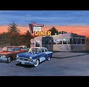 Royal & Langnickel Royal & Langnickel Painting By Numbers 50's Diner