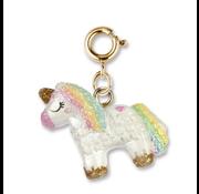 Charm It Charm It! Gold Unicorn Pinata Charm