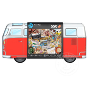 Eurographics Eurographics VW Road Trips Puzzle 550pcs in VW Tin