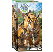 Eurographics Eurographics Save Our Planet Collection: Tigers Puzzle 250pcs