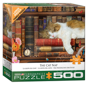 Eurographics Eurographics The Cat Nap Large Pieces Family Puzzle 500pcs