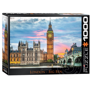 Eurographics Eurographics London Big Ben Puzzle 1000pcs