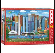 Eurographics Eurographics Toronto Island Picnic Puzzle 1000pcs
