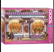 Eurographics Eurographics Cups, Cakes & Company Puzzle 1000pcs