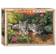 Eurographics Eurographics Double Trouble Kittens Puzzle 1000pcs
