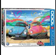 Eurographics Eurographics VW Beetle Love Puzzle 1000pcs