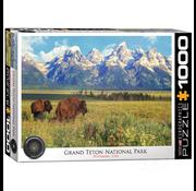 Eurographics Eurographics Grand Teton National Park Wyoming, USA Puzzle 1000pcs