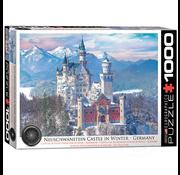 Eurographics Eurographics Neuschwanstein Castle in Winter Puzzle 1000pcs