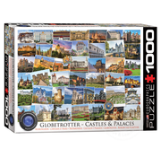 Eurographics Eurographics Globetrotter Castles & Palaces Puzzle 1000pcs