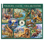 Ceaco Ceaco Wildlife 8 in 1 Puzzle