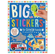 Make Believe Ideas Big Stickers for Little Hands