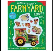 Make Believe Ideas Balloon Stickers Farmyard Activity Book