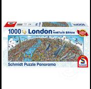 Schmidt Schmidt London Panorama Puzzle 1000pcs