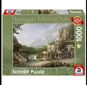Schmidt Schmidt Mountain Palace Puzzle 1000pcs