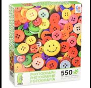 Ceaco Ceaco Photograph Buttons Puzzle 550pcs