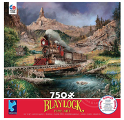 Ceaco Ceaco Blaylock Nuggetville Blue Sky Puzzle 750pcs