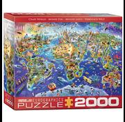 Eurographics Eurographics Crazy World Puzzle 2000pcs
