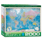 Eurographics Eurographics Map of the World Puzzle 2000pcs