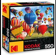 Kodak Up, Up and Away! Hot Air Balloon Fiesta, Albuquerque Puzzle 550pcs