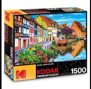 Kodak Amazing Traditional French Houses, Petite Venise, France Puzzle 1500pcs
