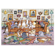 Gibsons Gibsons The Barker-Scratchits Puzzle 500pcs