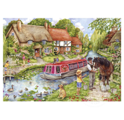 Gibsons Gibsons Drifting Downstream Puzzle 500pcs