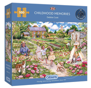 Gibsons Gibsons Childhood Memories Puzzle 500pcs