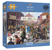 Gibsons Gibsons VE Day Puzzle 500pcs