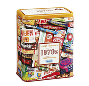 Gibsons Gibsons 1970S Sweet Memories Puzzle 500pcs Gift Tin
