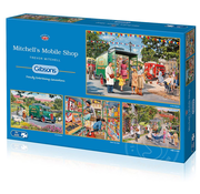 Gibsons Gibsons Mitchell's Mobile Shop Puzzle 4 x 500pcs