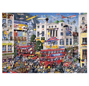 Gibsons Gibsons I Love London Puzzle 1000pcs