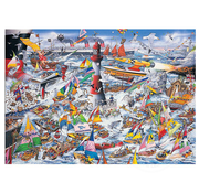 Gibsons Gibsons I Love Boats Puzzle 1000pcs