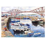 Gibsons Gibsons Queensferry Harbour Puzzle 1000pcs