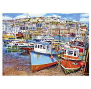 Gibsons Gibsons Mevagissey Harbour Puzzle 1000pcs