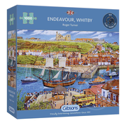 Gibsons Gibsons Endeavour, Whitby Puzzle 1000pcs
