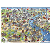Gibsons Gibsons London Landmarks Puzzle 1000pcs