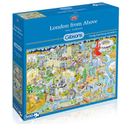 Gibsons Gibsons London from Above Puzzle 500pcs