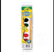 Crayola Crayola 8 Washable Watercolours