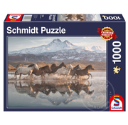 Schmidt Schmidt Horses in Cappadocia Puzzle 1000pcs
