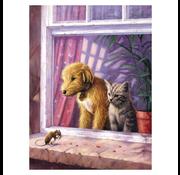 Royal & Langnickel Royal & Langnickel Painting by Numbers Window Watching