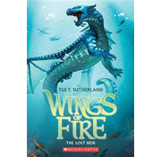 Scholastic Wings of Fire #2 The Lost Heir