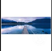 Schmidt Schmidt Lake Wakatipu - New Zealand Panorama Puzzle 1000pcs