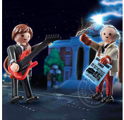 Playmobil Playmobil Back to the Future Marty McFly and Dr. Emmet Brown