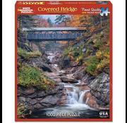 White Mountain Puzzles White Mountain Covered Bridge Puzzle 1000pcs
