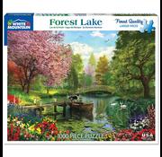 White Mountain Puzzles White Mountain Forest Lake Puzzle 1000pcs