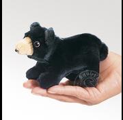 Folkmanis Folkmanis Black Bear Finger Puppet